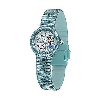 Hip Hop Watch Vain Aika omistettu Elsa jäädytetyllä Disneyllä silikoni glitterillä ja vedenkestävällä hihnalla HWU0963