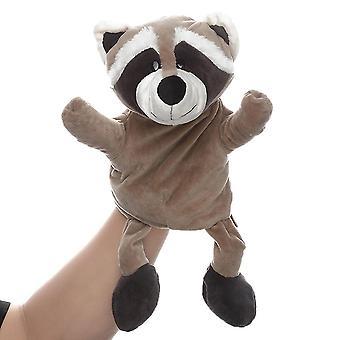 Pesukarhu käsi nuket eläin lelu mielikuvituksellinen leikki, tarinankerronta, opetus
