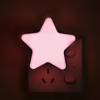 LED érzékelő által vezérelt éjszakai lámpák Pentagram alakú lámpa