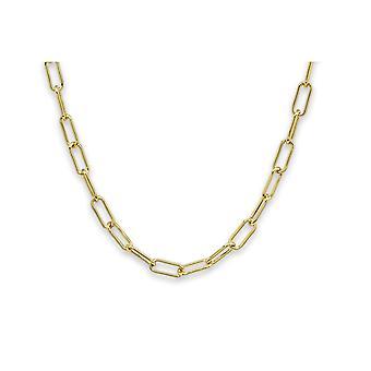 Boho betty notus gold chunky chain medium length necklace