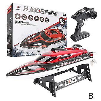 Rc Racing Boat, Radio Remote Control, Dual Motor, Fluid Type Design, Outdoor