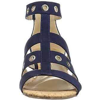 Bandolino Womens Olegga Fabric Open Toe Casual Platform Sandals