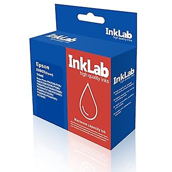 InkLab 802 Epson Compatible Cyan Replacement Ink