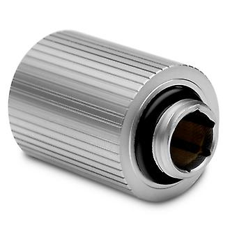EK Water Blocks EK-Quantum Torque 28mm Static Male/Male Extender - Satin Titanium