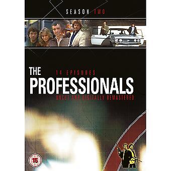 The Professionals Season 2 DVD