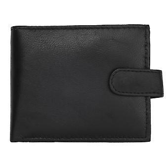 Men's Soft Leather Flip Up Wallet