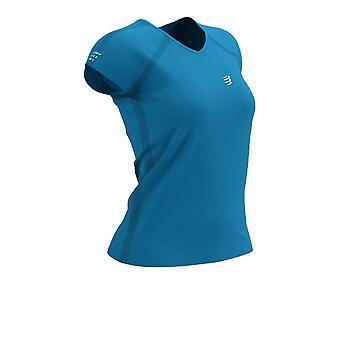 Compressport Training Women's T-Shirt - Born To SwimBikeRun 2021 - AW21