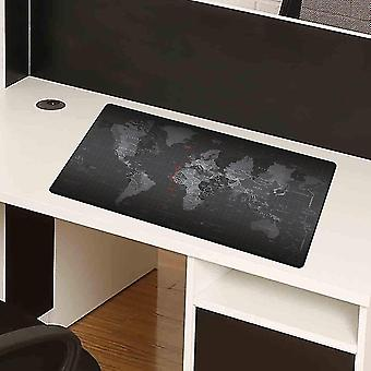 Extended Super Large World Map Keyboard Mouse Pad Anti-skid Mousepad