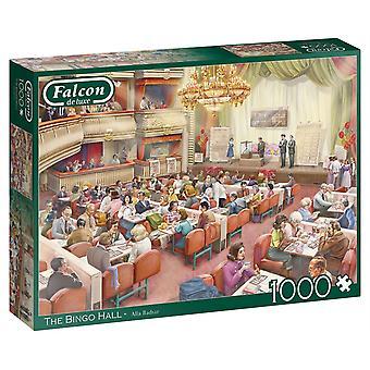 Falcon Deluxe Bingo Hall pussel (1000 stycken)