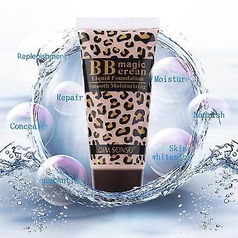 Kirkasta ihoa Bb Magic Cream Sun Block Foundation Sileä kosteuttava