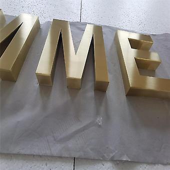 Tehtaanmyymälä Ulkopinnoitus metalli logo kyltit