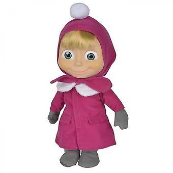 Masha & Michka Simba Winter Doll 40 Cm
