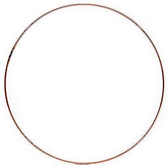 406mm (16in) Copper Metal Ring for Crafts - Wreath & Flower Hoop