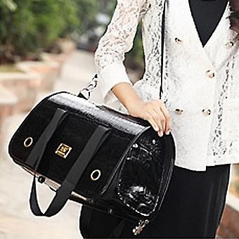 Tragbare Klapppet Handtasche Schultertasche für Katze / Hund und andere Haustiere Medium, Größe: 42 * 27 * 22cm