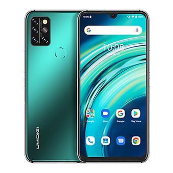 UMIDIGI A9S Pro Smartphone Forest Green - Olåst SIM-fritt - 8 GB RAM - 128 GB förvaring - 48MP fyrkamera - 4150mAh Batteri - Nyskick - 3 års garanti