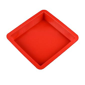 Silicone Non-stick Cake Pan, Square Shape, 3d, Flat, Oven Tray, Safe Material