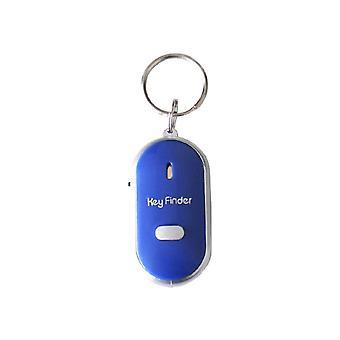 Avain finder anti-lost pilli anturit avainnipun tracker led whistle taputtaa paikannin