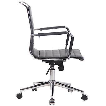 Toimistotuoli - Työpöytätuoli - Kotitoimisto - Moderni - Musta - Metalli - 57 cm x 62 cm x 93 cm