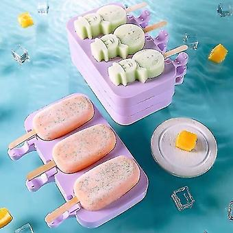 Ice pops creative modern style ice sickle lolly molds 3 building blocks