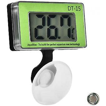 Akvárium hőmérő haltartály hőmérsékletmérő eszköz LCD digitális hőmérő hőmérő