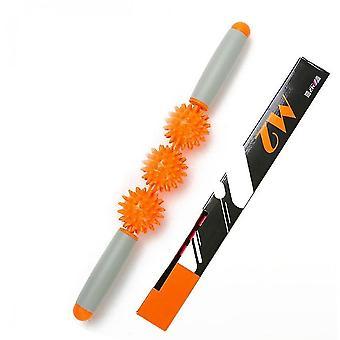 Drukpunt Spiermassage Roller (Oranje)