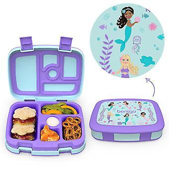 Bentgo Imprime une boîte à lunch pour enfants à 5 compartiments à 5 compartiments de style Bento