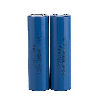 2pcs 3000mah 18650 3.7v Li-ion power batterijcel oplaadbare 20a van toepassing op elektrische gereedschappen elektrische boor elektrische hamer stofzuiger veegmachine