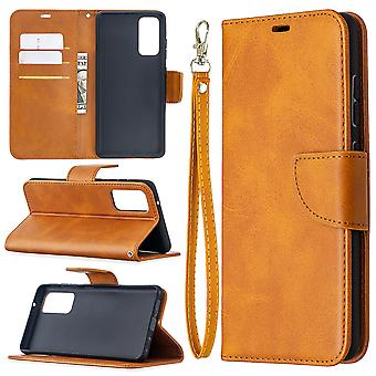 Leather Cover For Samsung Galaxy S20 Fe