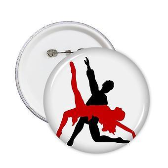 אמנות דואט ריקוד חברתי ריקוד חברתי סיבוב סיכות תג