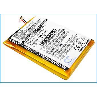 Battery for INSIGNIA Sport NS-2V17 2GB 4GB NS2V17R NS-4V17 7F18F18 Media Player