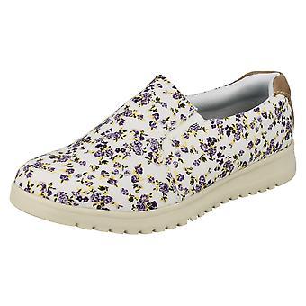 Ladies Padders Slip On Casual Shoes Re Grow