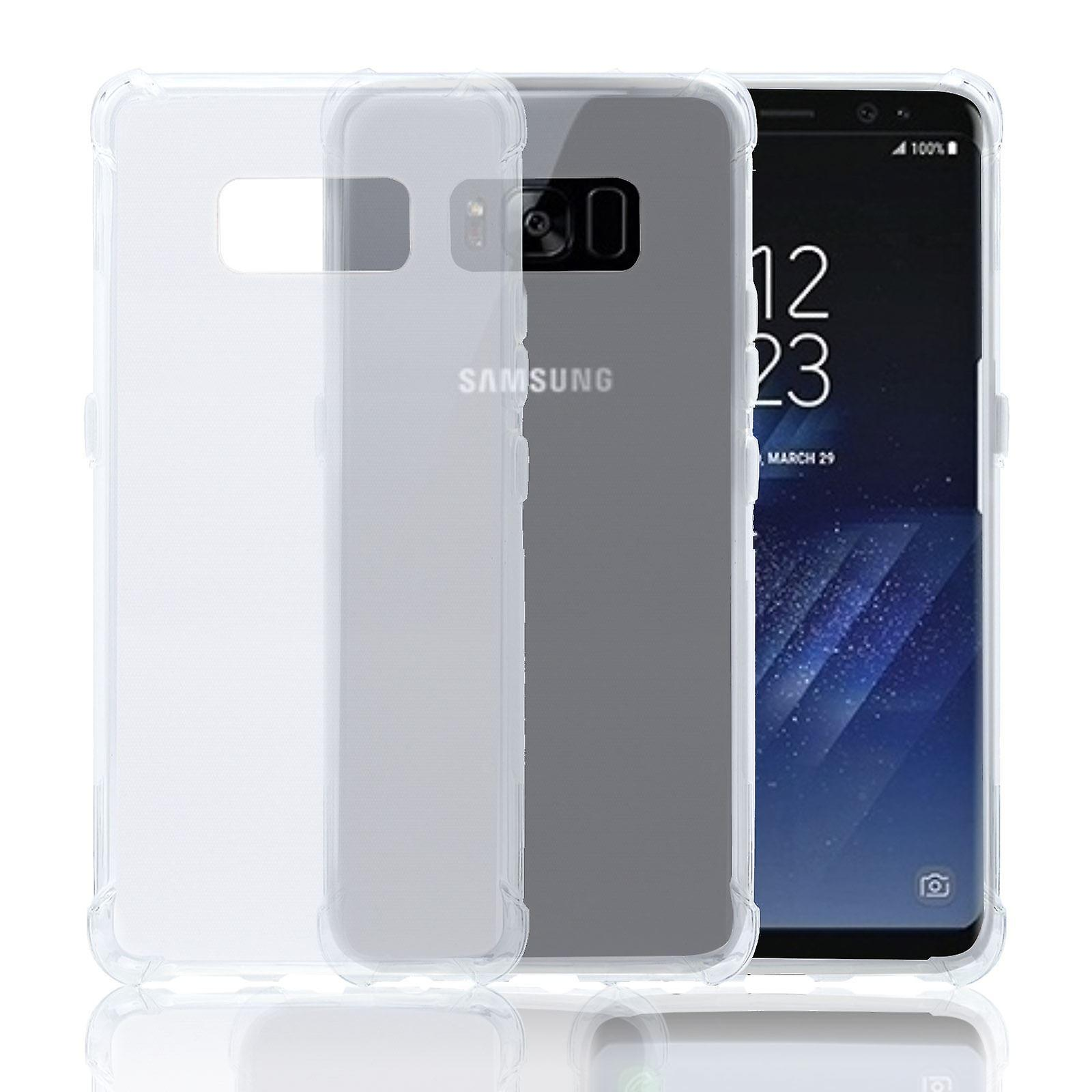 32nd Tough Gel case for Samsung Galaxy S8 - Clear
