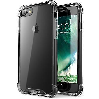 Apple iPhone 7 Case,i-Blason- Shockproof Case,, Apple iPhone 7 Case-Black