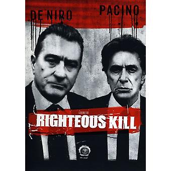 Righteous Kill importation USA [DVD]