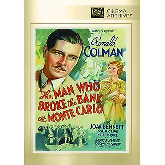 Mannen som bröt banken i Monte Carlo [DVD] USA import