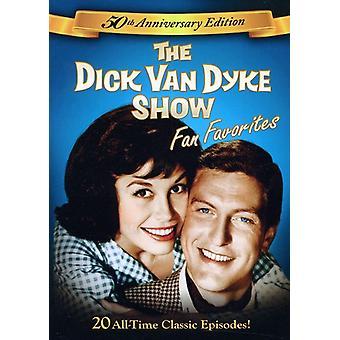 Dick Van Dyke Show: Fansens favoriter [DVD] USA import