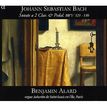 J.s. Bach - Johann Sebastian Bach: Sonate 2 Clav. & Pedal, Bwv 525-530 [CD] USA importieren