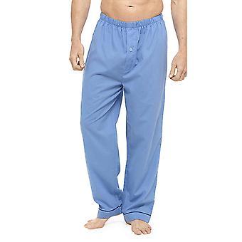Mens zacht gevoel pyjama bodems (Pack van 2)