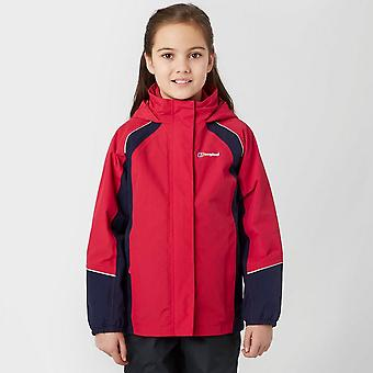 New Berghaus Girl's Callander Waterproof Jacket Pink