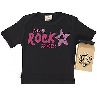 Spoilt Rotten Rock Princess Toddler T-Shirt 100% Organic Cotton