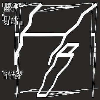 Hieroglyphic Being & J.I.T.U Ahn-Sahm-Bu - We Are Not the First [CD] USA import