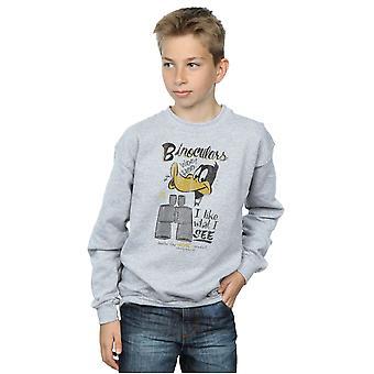 Looney Tunes jongens Daffy Duck verrekijker Sweatshirt