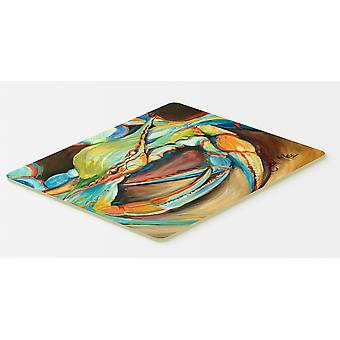 Carolines Treasures  JMK1096CMT Blue Crab Kitchen or Bath Mat 20x30