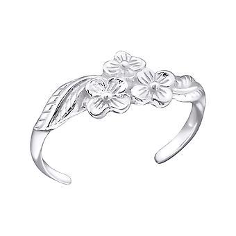 Květiny - 925 Sterling Silver Prst prsteny - W21053x