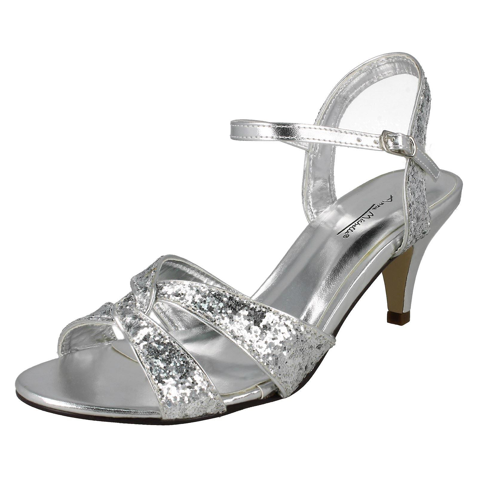 Panie Anne Michelle górny pasek połowy sandałów Xv4V8