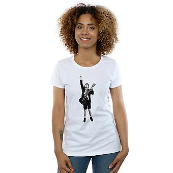 AC/DC Women's Angus Young Cut Out T-Shirt