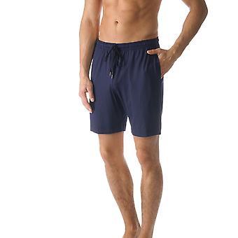 Jefferson cor azul sólida do pijama pijama do Mey 65650-668 homens curto