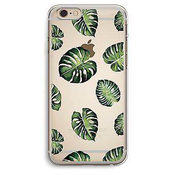 iPhone 6 Plus / 6S Plus caja transparente (suave) - Tropical deja