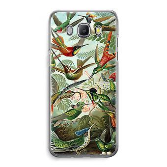 Samsung Galaxy J5 (2016) Transparent Case (Soft) - Haeckel Trochilidae