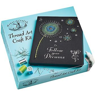 House of Crafts Thread Art Craft Kit